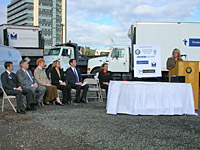 EPA's Michelle Pirzadeh recognizes Clean Diesel Hospital Zones grant recipients